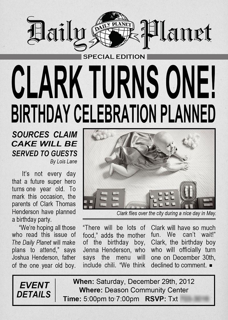 clark kent birthday party | church | pinterest | birthday, party and