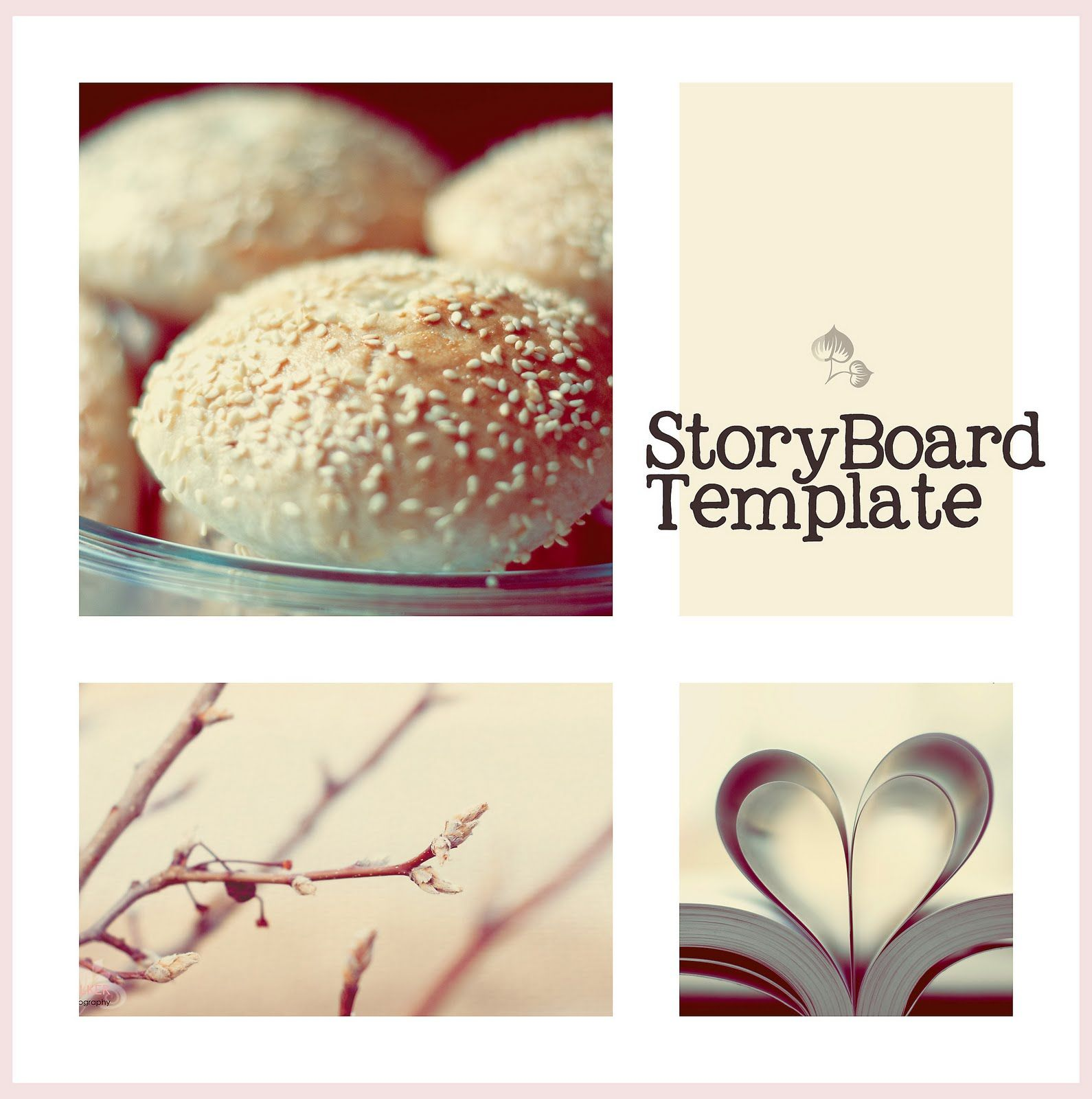 SofiaS World PhotoLove Free Storyboard Template   Photo