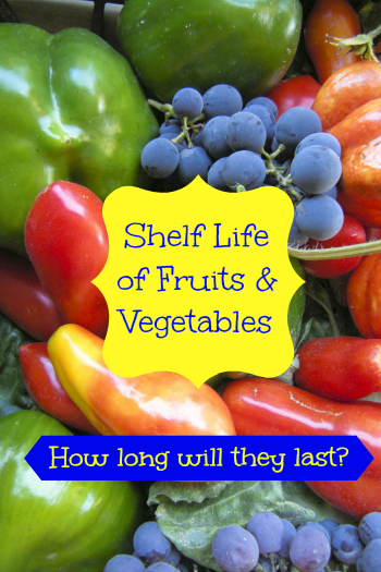 When You Spend A Lot Of Money To Buy Delicious And Healthy Fruit And Veggies You Don T Want To End Healthy Fruits And Vegetables Shelf Life Fruits And Veggies