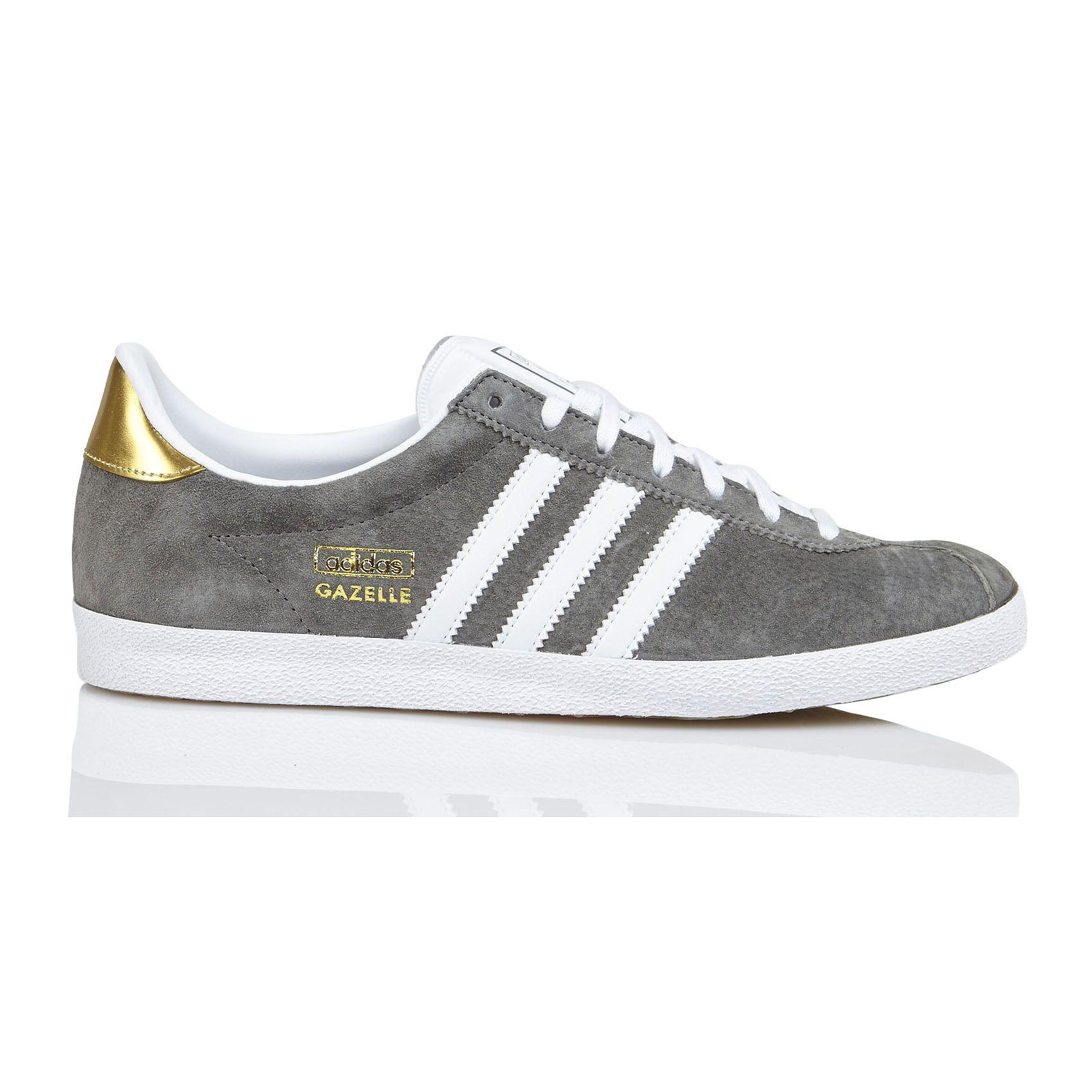 68ba0298b25 adidas Gazelle Suede Trainers in Grey