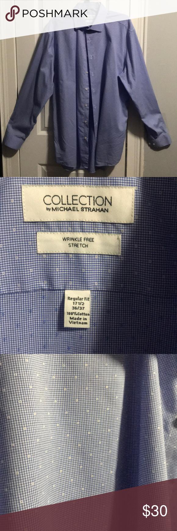 Michael Strahan Dress Shirt In 2018 My Posh Closet Shirt Dress