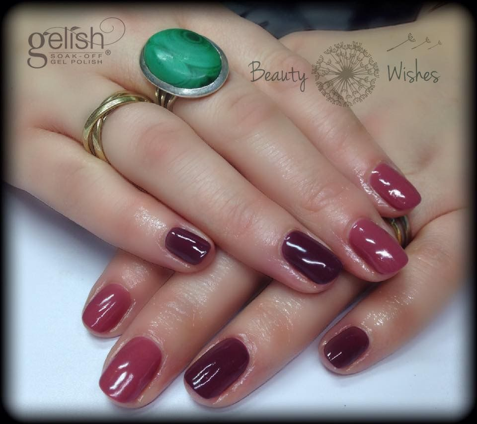 Gelish Quot Exhale Quot And Quot Just Naughty Enough Quot