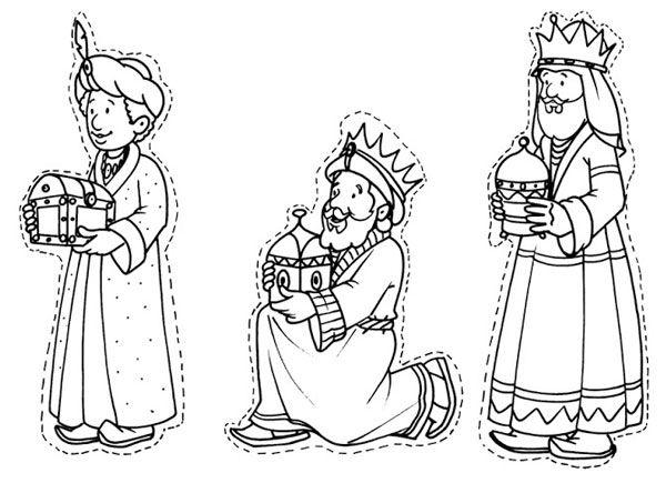 10 Dibujos De Los Reyes Magos Para Colorear Gratis Pequeocio Reyes Magos Dibujos Tres Reyes Magos Rey Para Colorear