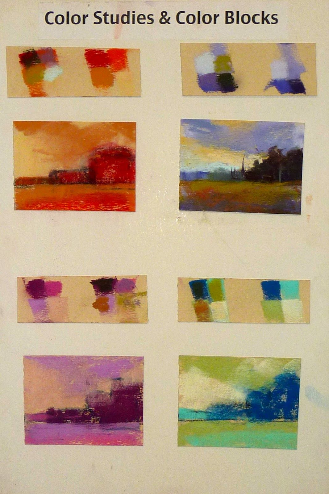 Painting My World: Creating a Mood with Underpainting Colors