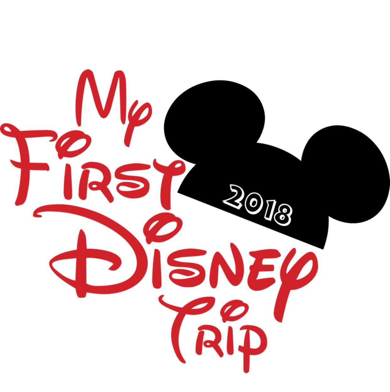 9f060854 My First Trip To Disney .svg file for Cricut and Silhouette by  ElysianbyMarysela on Etsy