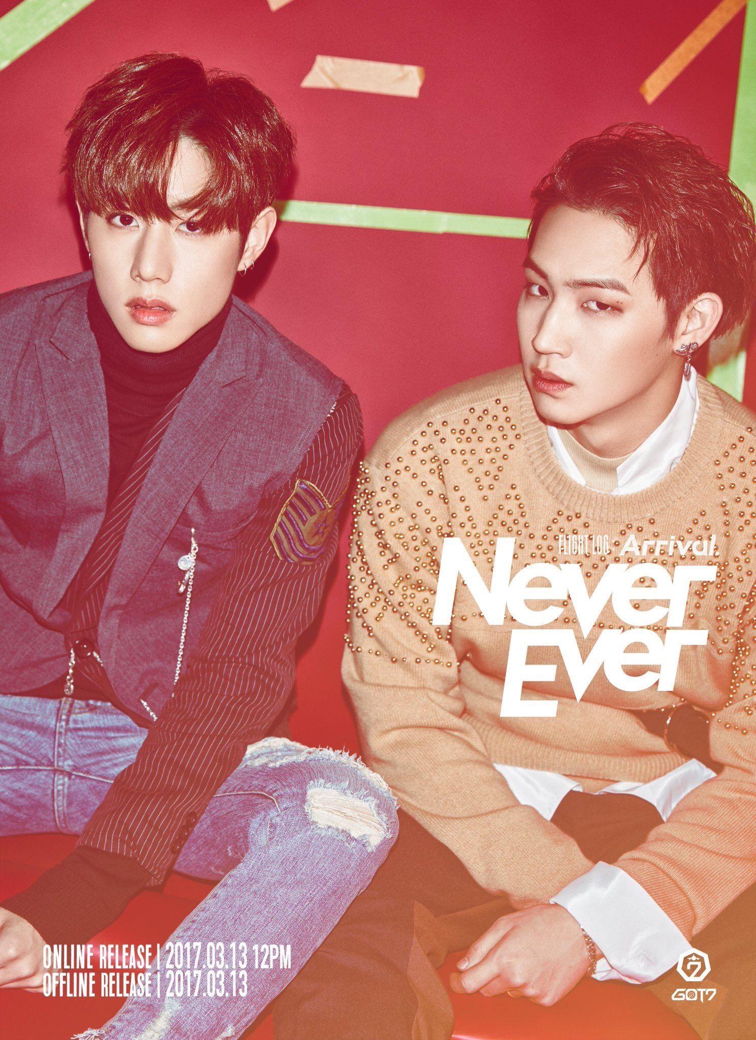 Never Ever Concept Photo - Mark and Jaebum | GOT7 Heaven | Pinterest