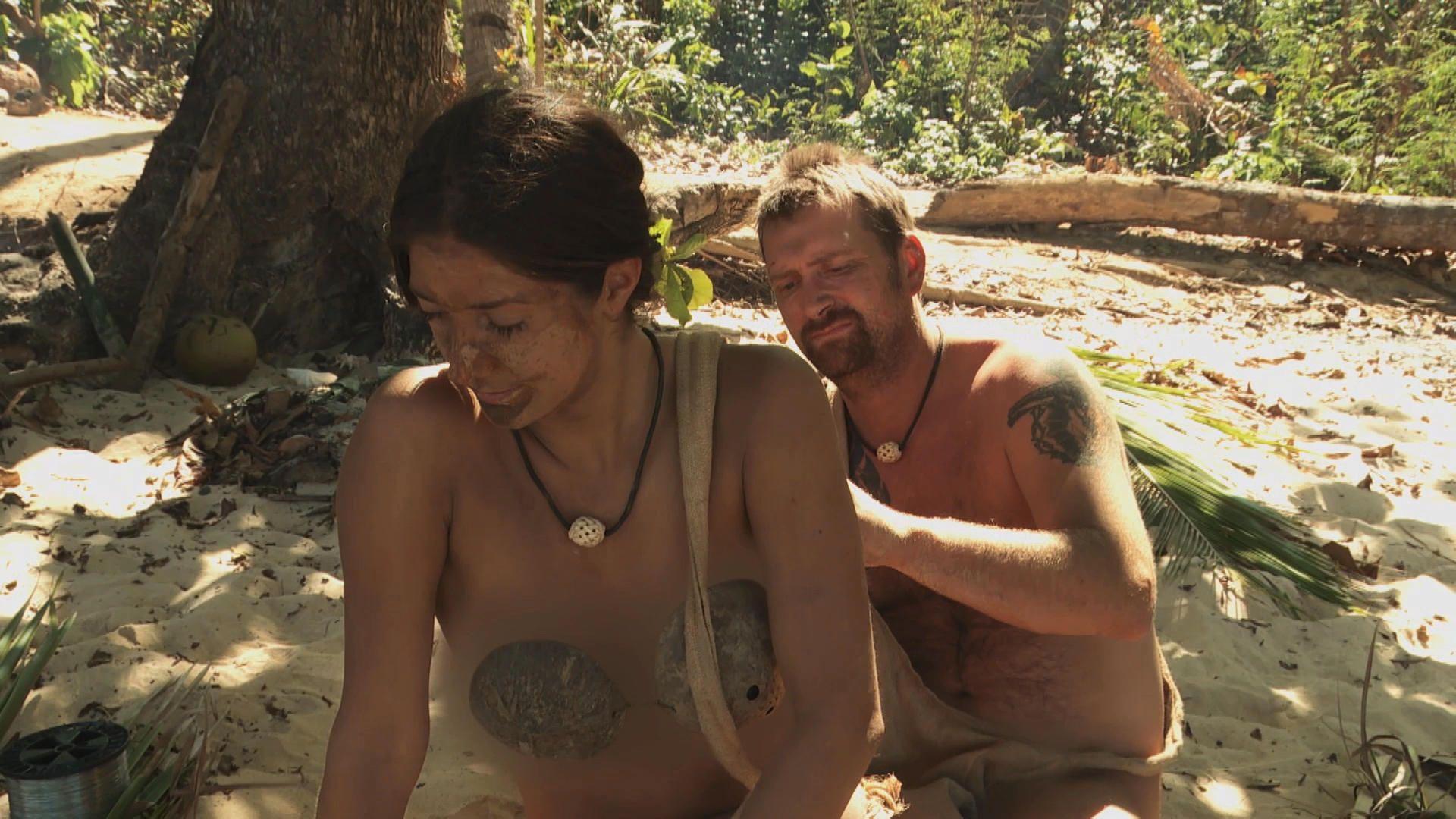 Allison Naked And Afraid survival fashion
