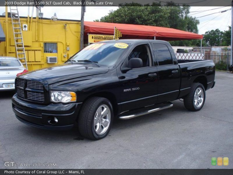 2003 Dodge Ram 1500 Slt Quad Cab In Black I Love It Would Want