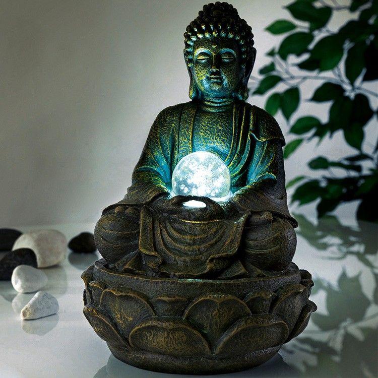 Deko-brunnen Buddha - Jetzt Reduziert Bei Lesara | Buddhismus ... Buddhistischer Altar Als Deko