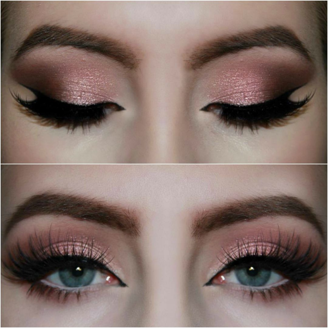 Rose Gold Smokey Eye! Tutorial