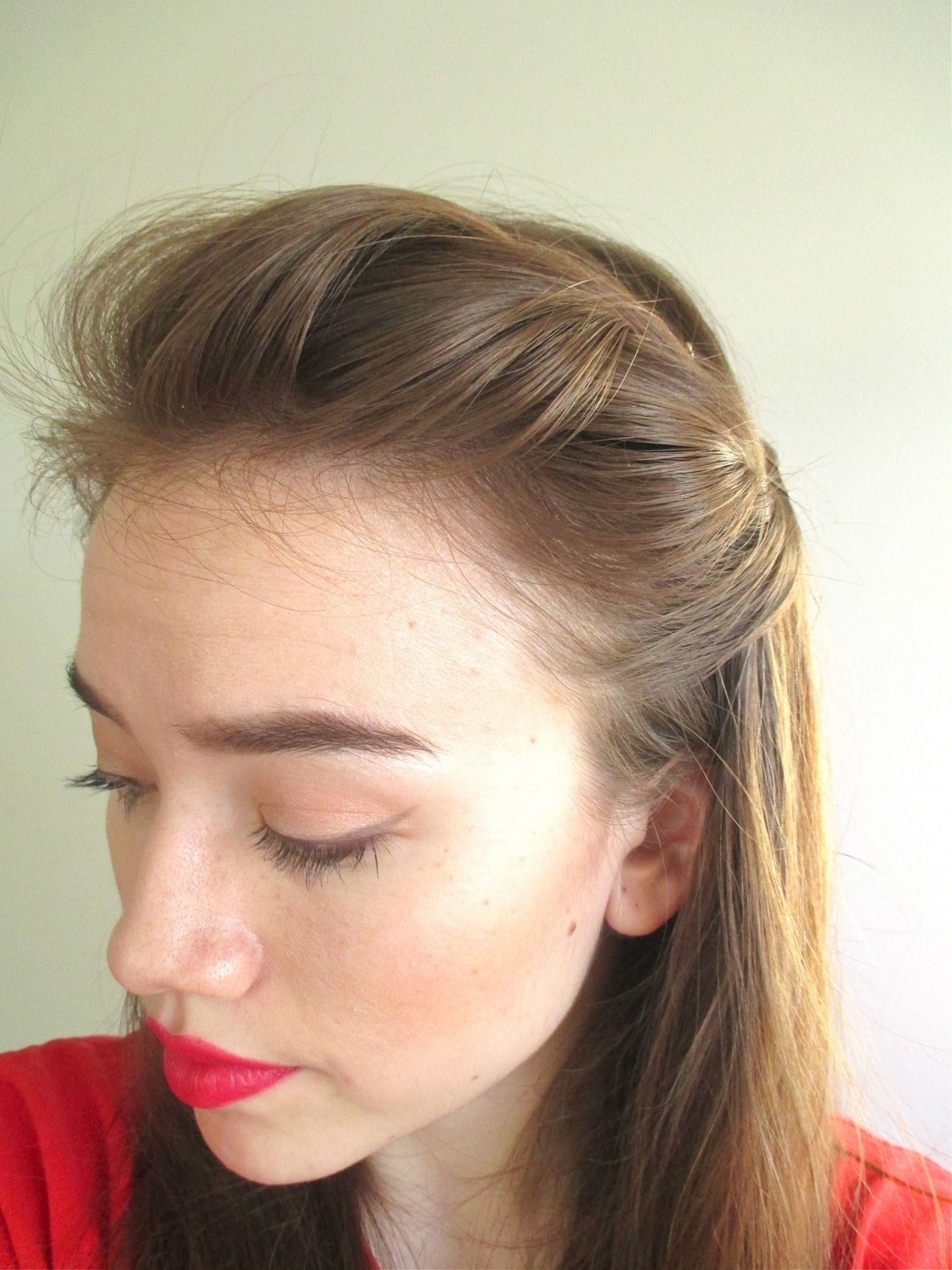 5 cute & easy hairstyles using only bobby pins   hair in