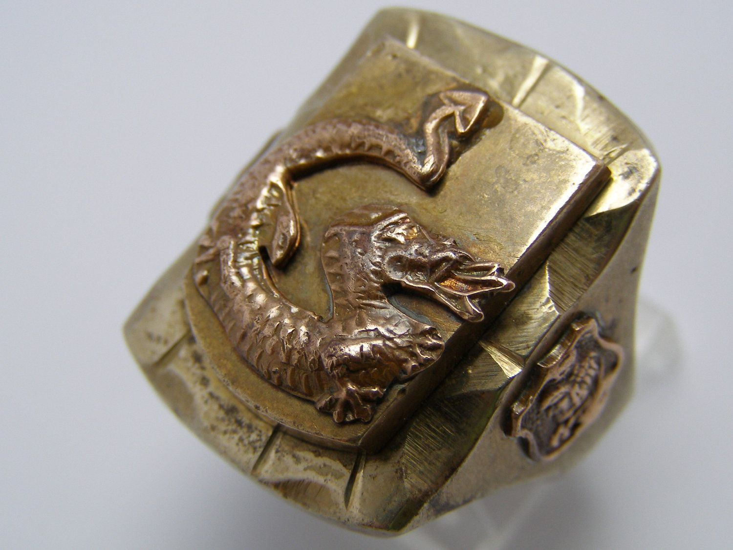 Dragon mexican biker rings Pinterest Dragons Biker rings and