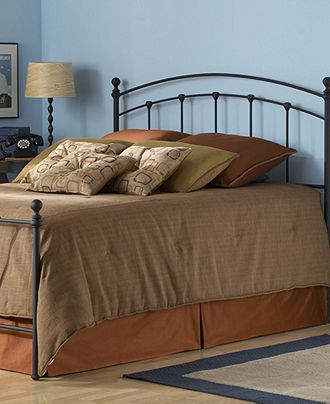 Stanton Matte Black King Bed, Metal Bed Frame - Bedroom Furniture ...