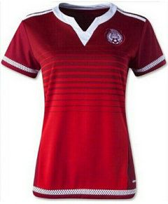 2015 Mexico Soccer Team WOMEN WORLD CUP Away Replica Jersey  85f08a05a5
