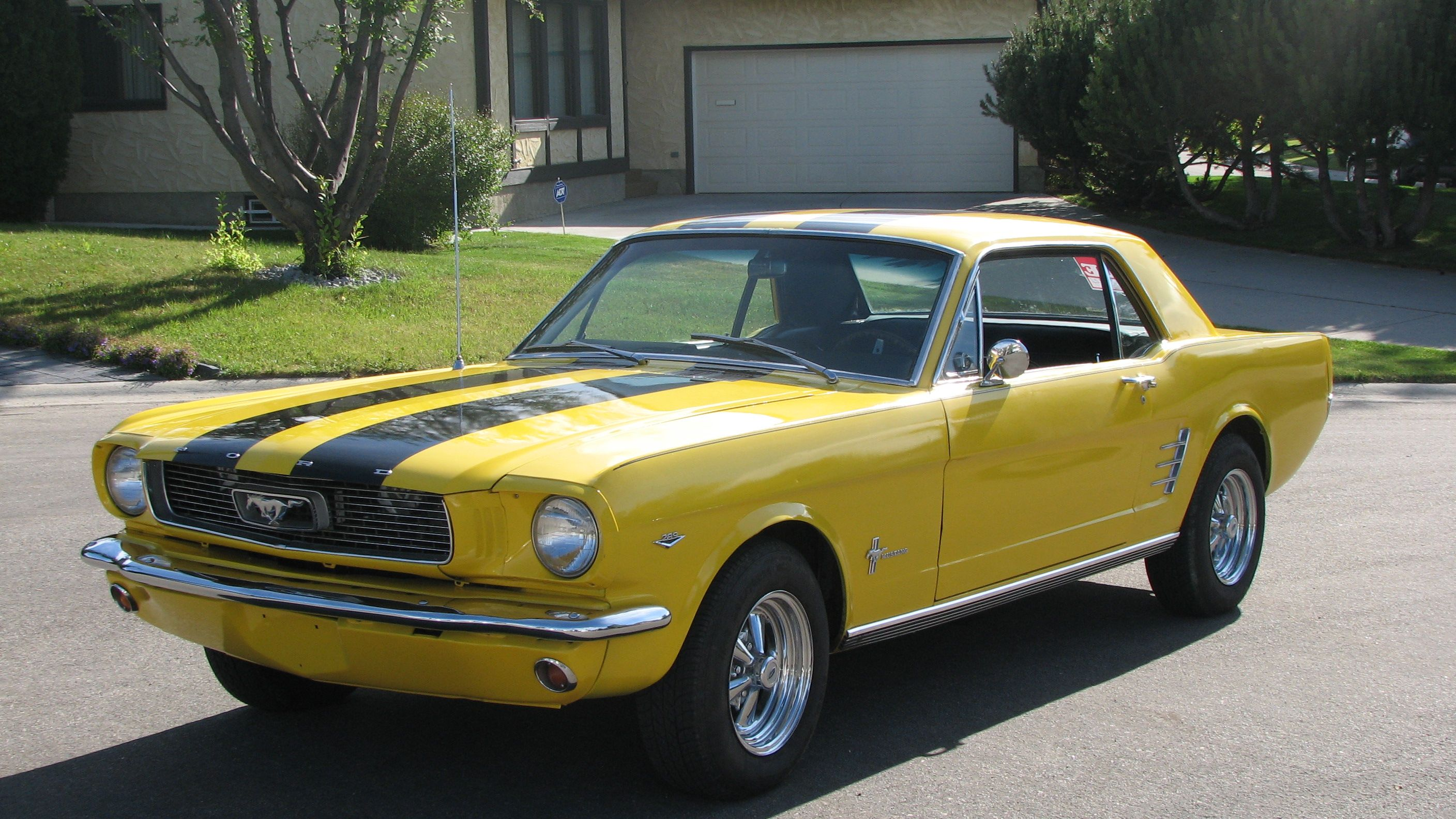 1966 Ford Mustang Coupe | Ford Mustang | Pinterest | Ford mustang ...
