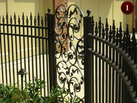Wrought Iron Fencing Raleigh Wrought Iron Fences Iron Fence