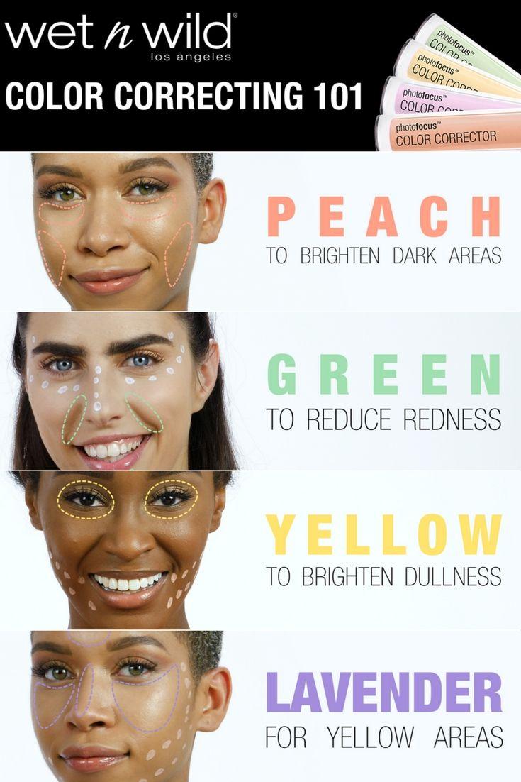 yellow correcting concealer