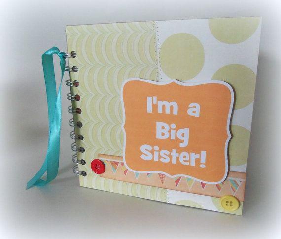 Im A Big Sister Premade Scrapbook Album Wire Binding Scrapbook