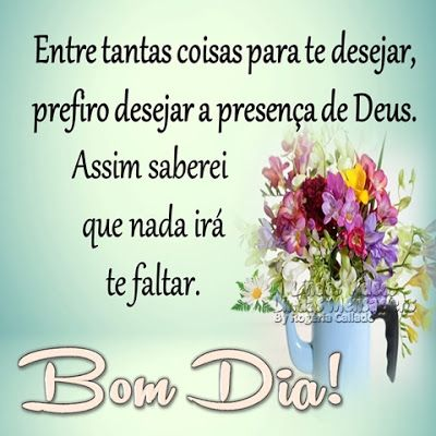 Bom dia te desejo um dia abençoado Por Deus novas mensagens com flores de bom dia!