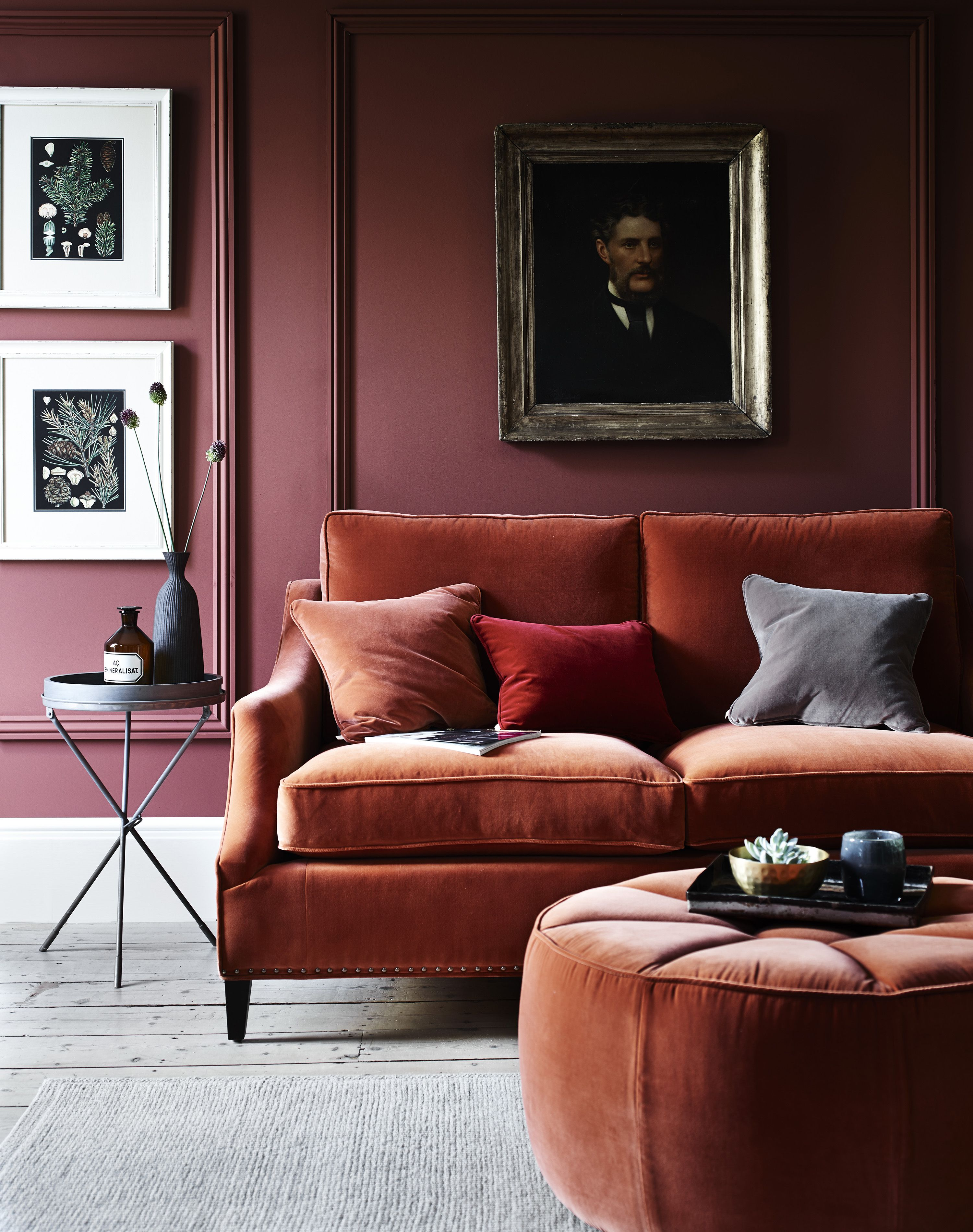 Deep red sleeper sofa · 11. 6 velvet sofas you won't be able to resist | Velvet sofa ...