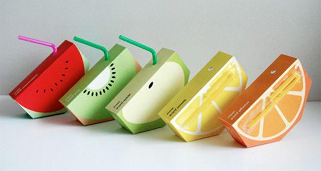 caixinhas de frutas