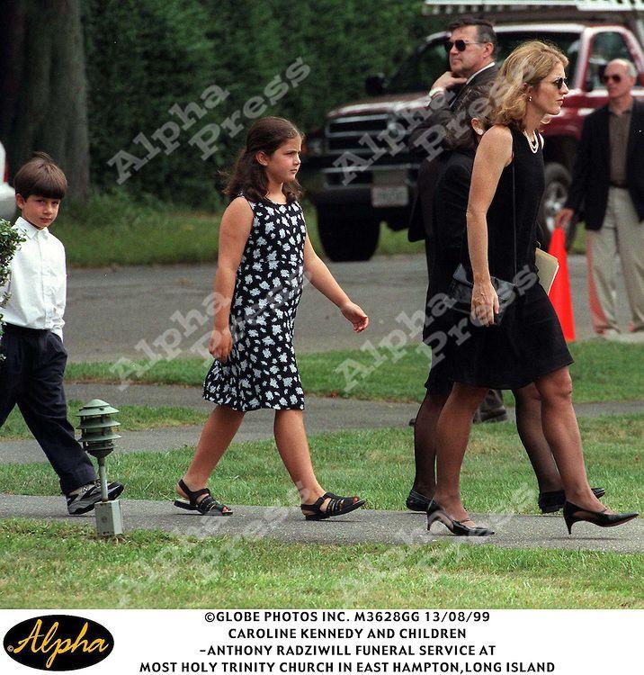 Anthony Radziwill Funeral