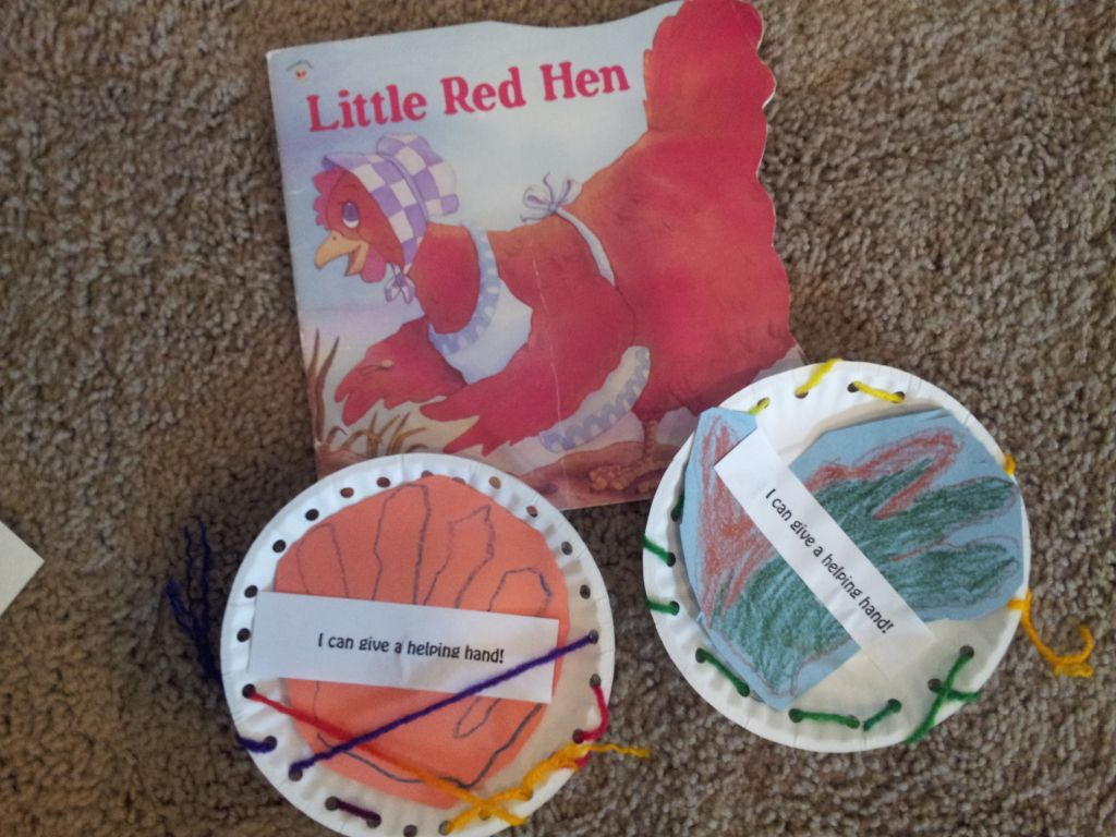 Little Red Hen Story Time With Images