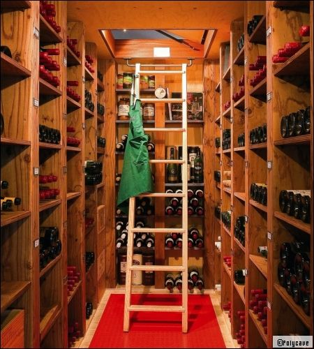 am nager une cave vin chez soi cave wine cellars and cellar design. Black Bedroom Furniture Sets. Home Design Ideas