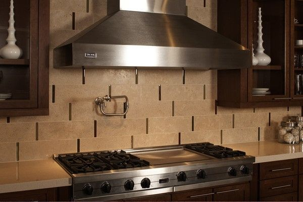 Travertine Backsplash From Daltile