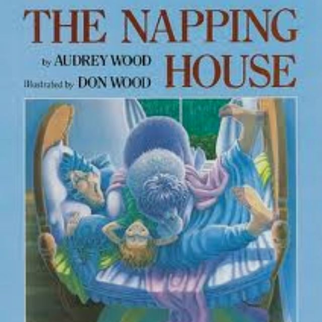 """I can do every word in this book by heart... """"there is a house, a napping house, where everyone is sleeping. & in that house there is a..."""" LOVE IT! One of my favorites! :)"""