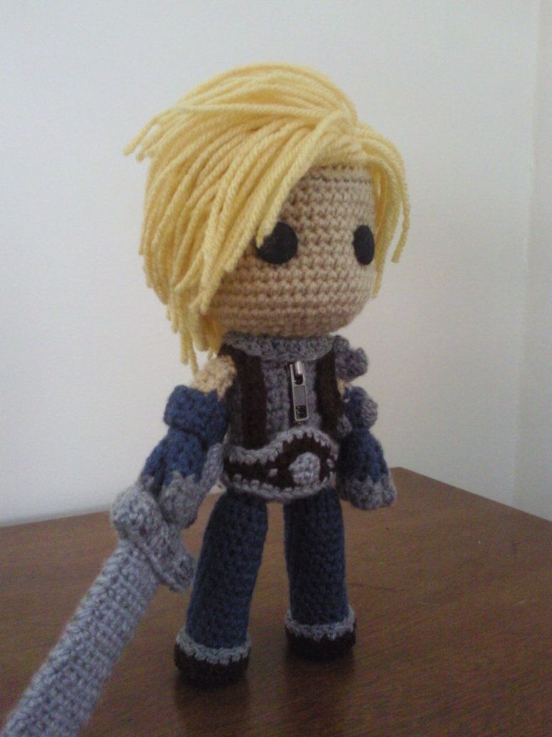 Cloud of Final Fantasy VII Sackboy by Sackboyncostume   Geek Crochet ...