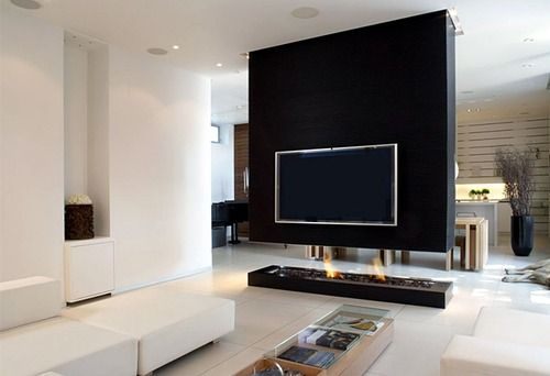 nice way to embed the tv | Ver | Pinterest