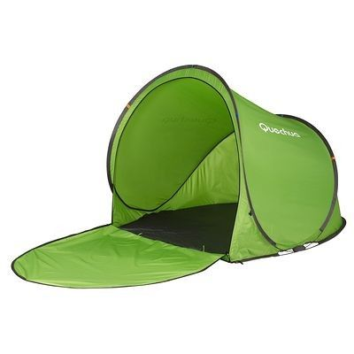 Randonnee Camp Du Randonneur Abri 2 Seconds Xl 0 Vert Tente Abri Magasin Decathlon