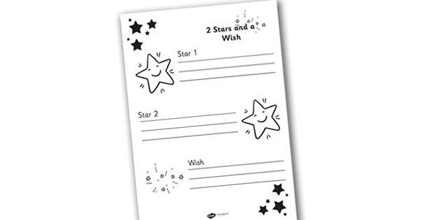 Two Stars And A Wish Target Sheets  Target Sheets Targets