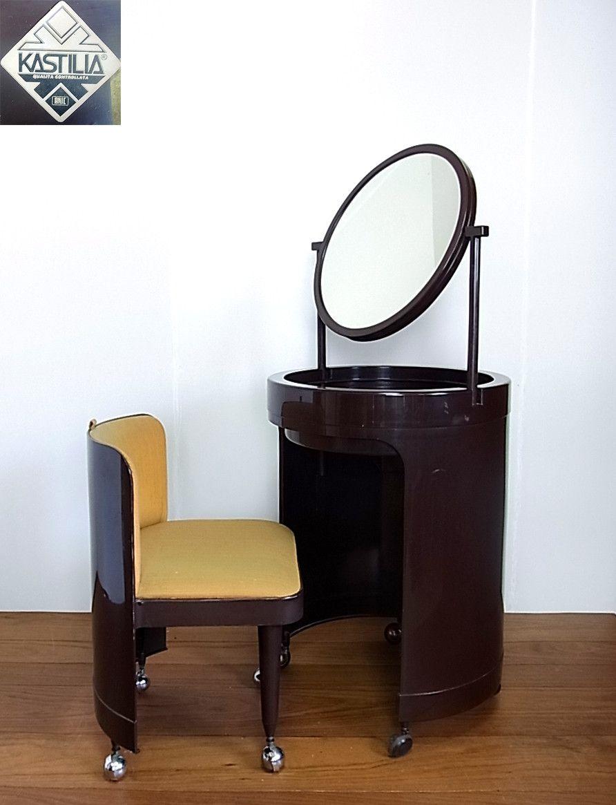 Vintage Kartell Studio Kastilia Vanity Mid-century