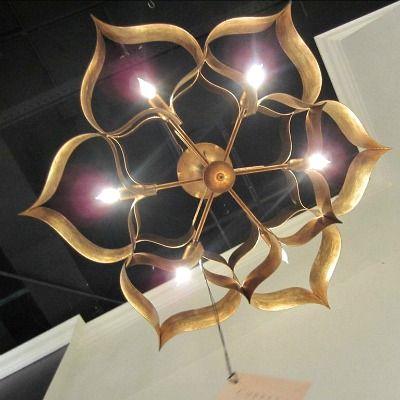 lg noir lotus inc candelabra chandelier