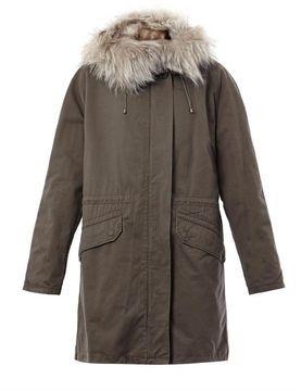 8defc97eb27 Yves Salomon Fur lined parka coat on shopstyle.co.uk