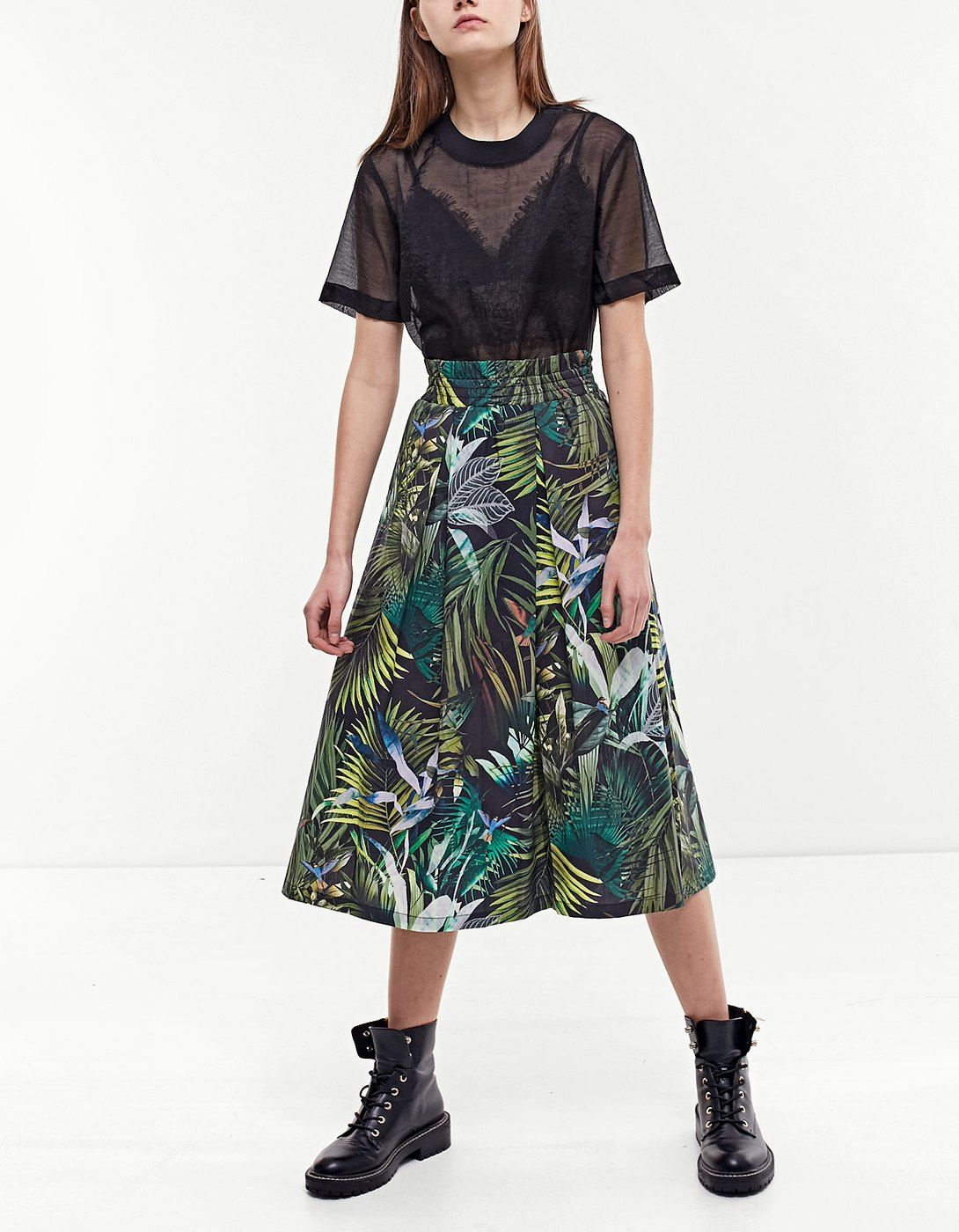 90654656c7 At Stradivarius you'll find 1 Print midi skirt for just 899 Ukraine . Visit  now to discover this and more Skirts.