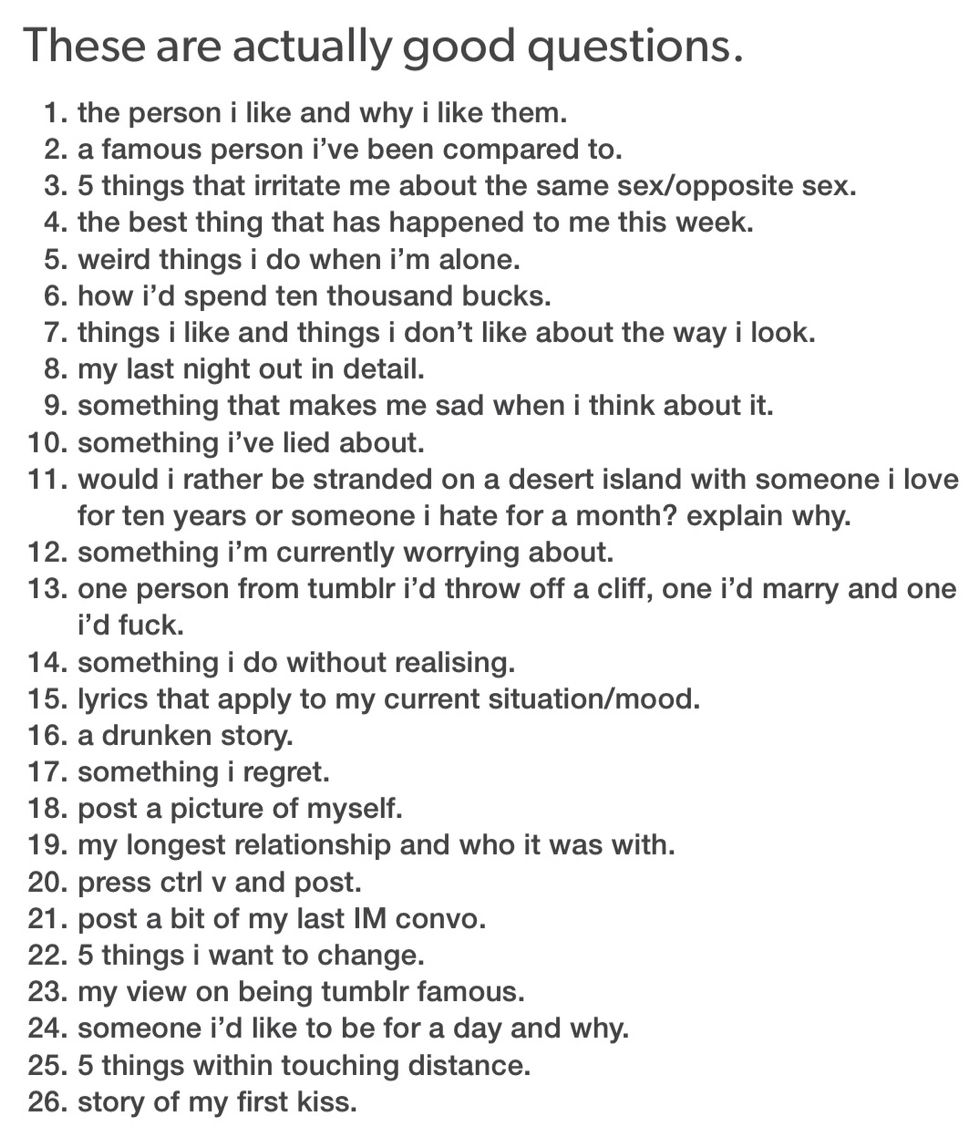 Questions for 21 questions to ask a girl