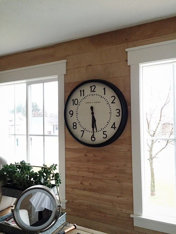 Shiplap In The Office – Part 1.