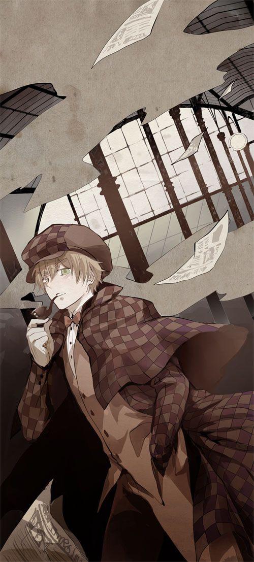 Sherlock Holmes By Nairchan Deviantart Com On Deviantart