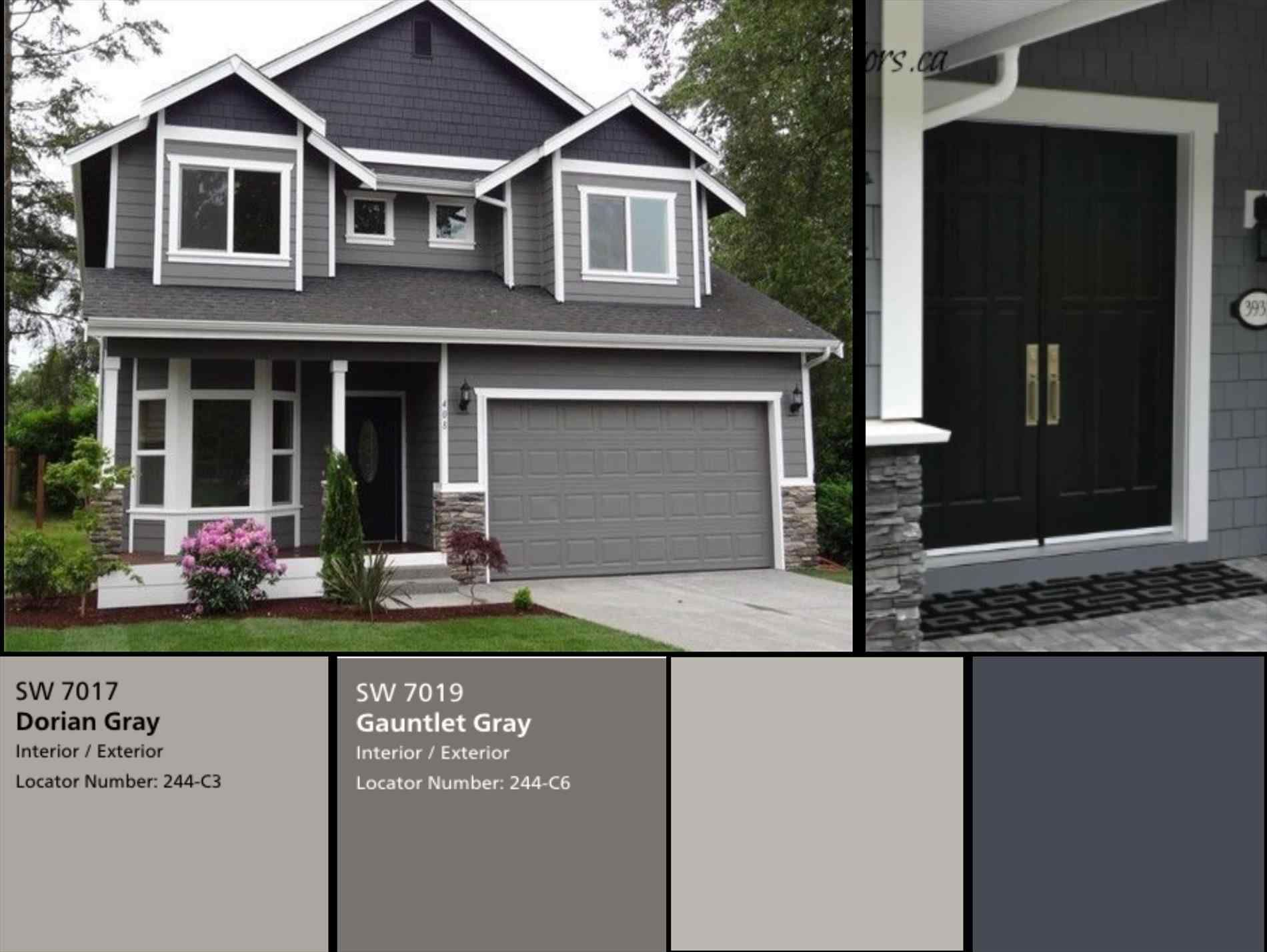 14 Awesome Medium Grey Exterior Paint For Inspiration Breakpr Gray House Exterior Grey Exterior House Colors House Paint Exterior