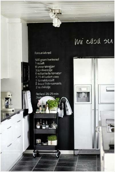 Pizarra!   Casa cartagena   Pinterest   Pizarra, Muebles de cocina y ...