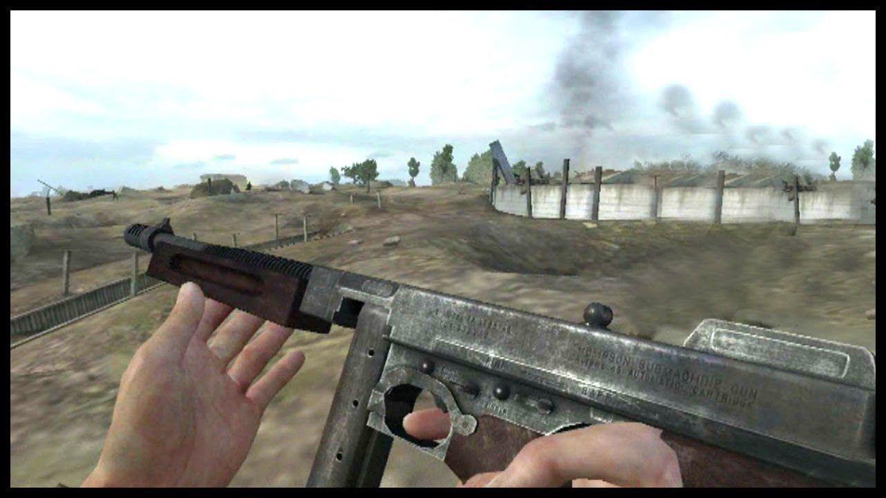 CALL OF DUTY 2 in Battlefield 2 - World War 2 mod