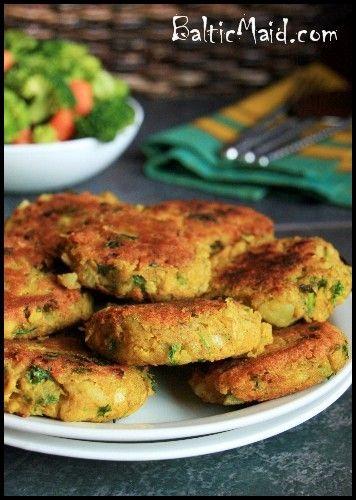 North African Chicken Potato Patties
