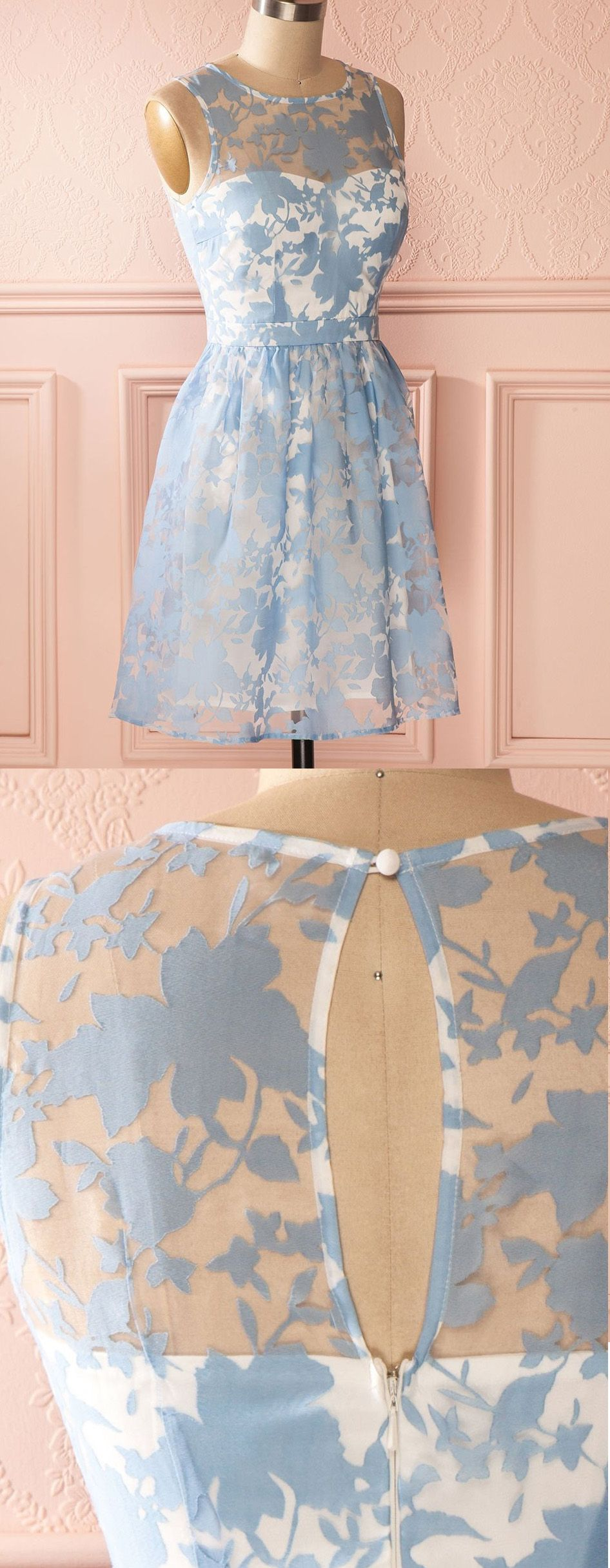 Light blue homecoming prom dress excellent short homecoming dresses