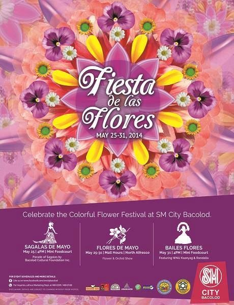 Celebrate the festival of flowers and end the month of May with a blast in SM Bacolods Fiesta de las Flores!  #FiestaDelasFlores #SMBacolod #SteelArtBillboards