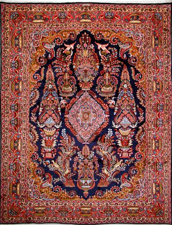 Mashad Persian Rug Buy Handmade Mashad Persian Rug 9 10 X 12 6 Authentic Persian Rug Halilar Desenler