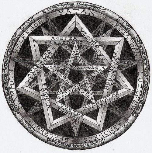 Seven Pointed Star Square The Circle Mysteries Hidden For Eons
