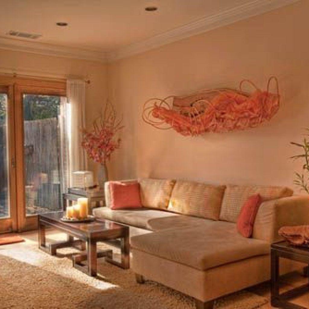 Peach Living Room Decor - Theres no arguing the christmas ...